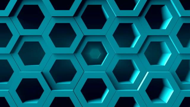 Fondo-abstracto-con-nido-de-abeja-Telón-de-fondo-digital