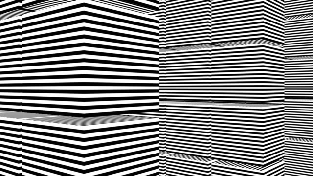Abstract-background-with-black-and-white-stripes