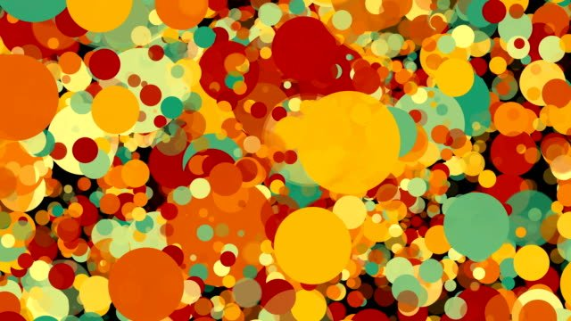 Abstract-colorful-circles-background