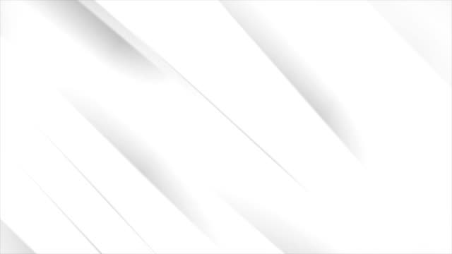 White-grey-corporate-smooth-stripes-abstract-video-animation