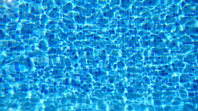 Blue-water-in-pool-Beautiful-background-Close-up
