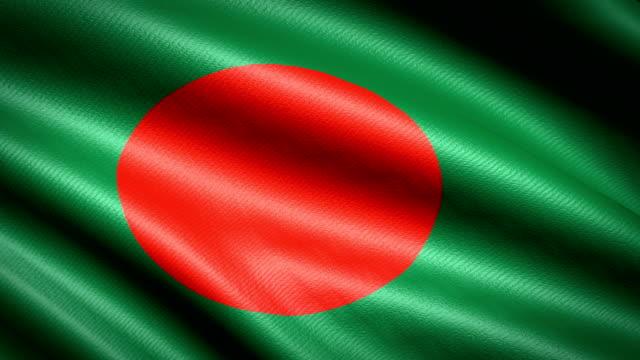 Bangladesh-Flag-Seamless-Looping-Animation-4K-High-Definition-Video