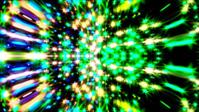 Lazo-de-VJ-Música-beat-con-partículas-brillantes-ordenador-genera-antecedentes-modernos