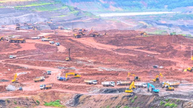 4K-Time-lapse-pit-lignite-mine-Quarry