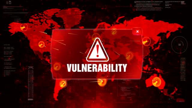 Vulnerabilidad-alerta-ADVERTENCIA-ataque-en-pantalla-mapa-del-mundo-