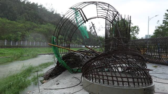 Puente-de-la-autopista-en-construcción-sido-dañado-en-la-lluvia-después-de-super-tifón-Mangkhut-en-China-en-16-septiembre-de-2018
