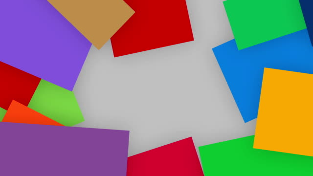 A-quirky-motion-graphics-of-colorful-paper-unfold-from-outer-corner-and-making-a-frame-alpha-channel