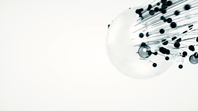 Esferas-abstractas-y-orbes-brillantes-