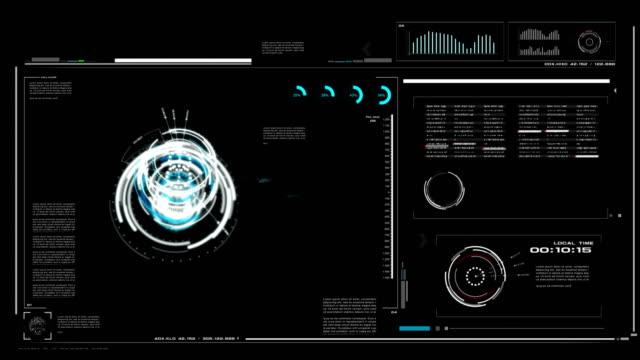 4K-UI-Benutzeroberfläche-mit-HUD-Pi-bar-Texthintergrund-Box-Tisch-schwarz-für-Cyber-Technik-und-futuristisches-Konzept-mit-Getreide-verarbeitet