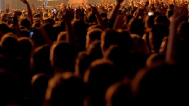 Multitud-de-aficionados-disfrutando-el-concierto-de-la-banda-de-música-favorita