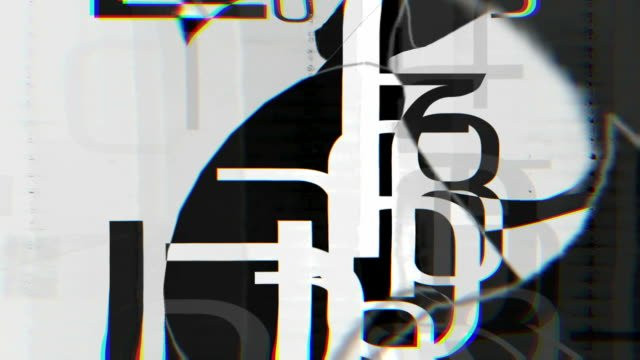 Abstract-glitch-graphic-mask-