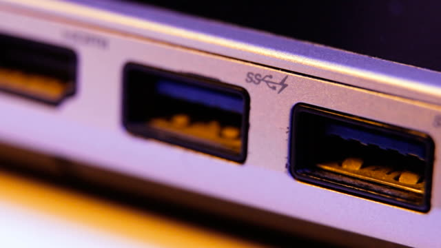 Closeup-of-HDMI-and-USB-ports-in-a-laptop