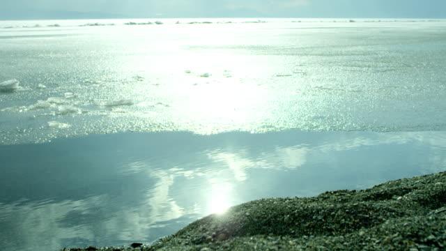 Beach-of-iced-sea-or-ocean