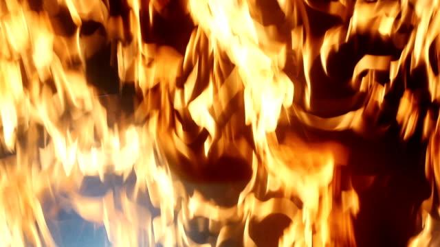 Slow-Motion-Firefighter-Breaks-a-Wall-of-Fire