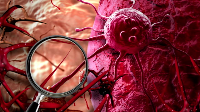 animation---Concept-of-Cancer-Cell-in-human-body