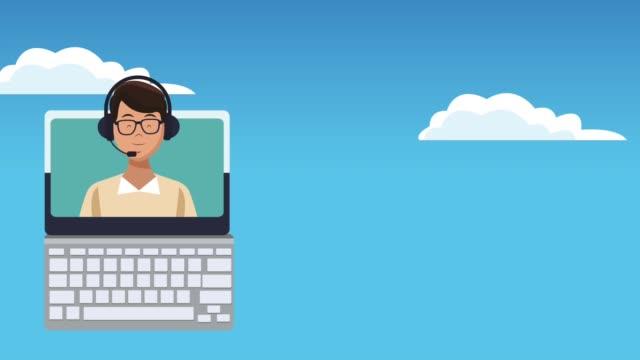 Agencia-de-viajes-llamada-centro-animación-HD