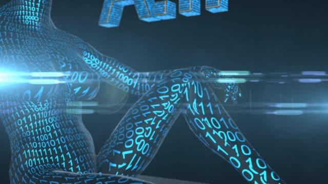 Robotic-Artificial-intelligence-AI-deep-learning-computer-program-technology