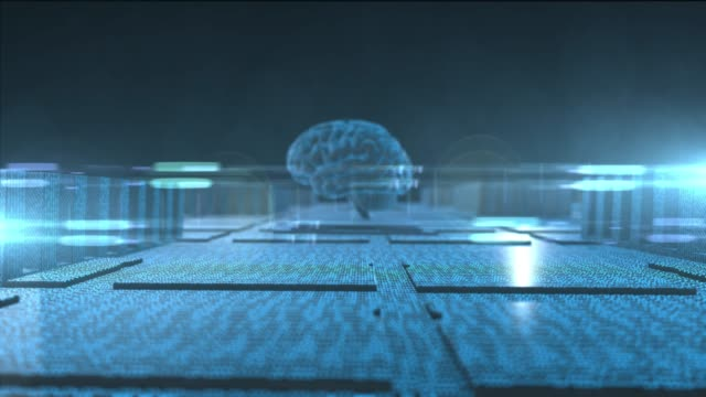 Brain-used-for-thinking-artificial-intelligence-chip-neural-network