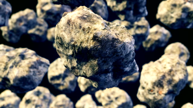 Abstract-CGI-motion-graphics-with-flying-asteroids