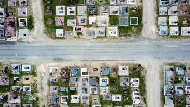 Aerial-view-The-biggest-cemetery-in-Europe