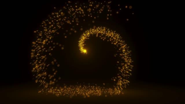 La-bola-caliente-crea-una-chispa-como-fuegos-artificiales-de-vacaciones-En-Ultra-alta-definición-4k-