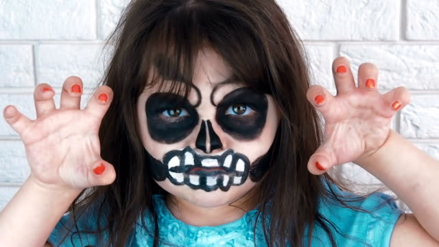 Angry-child-on-Halloween-
