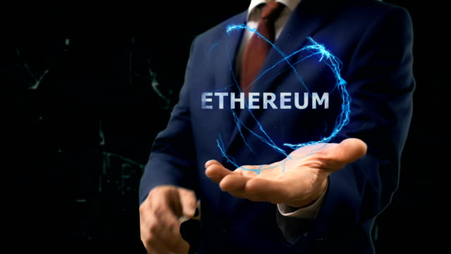 Businessman-shows-concept-hologram-Ethereum-on-his-hand