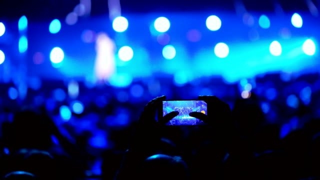People-at-the-music-concert