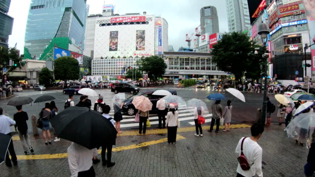 4K-Time-lapse-of-people-crossing-the-famous-crosswalks-at-the-centre-of-Shibuya