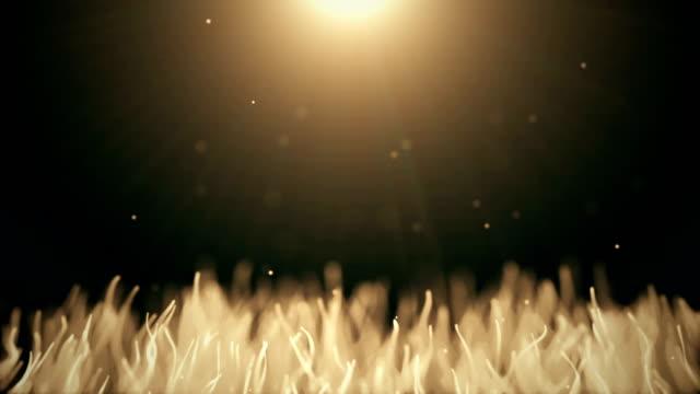 Abstrakte-organische-Hintergrund-mit-Umzug-und-Flicker-Partikel-Auf-schönen-entspannenden-Hintergrund-