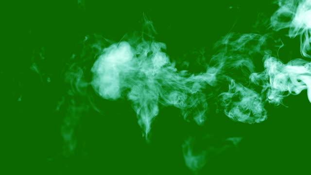 white-smoke-on-green-screen