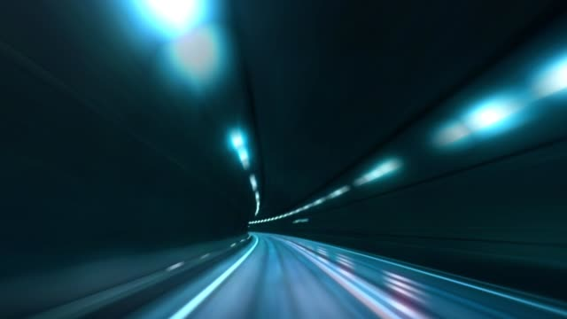Speed-motion-in-road-tunnel