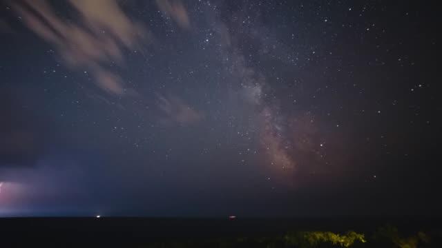 Milchstraße-am-Abend-Gewitter