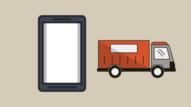 smartphone-with-vehicles-delivery-service-animation