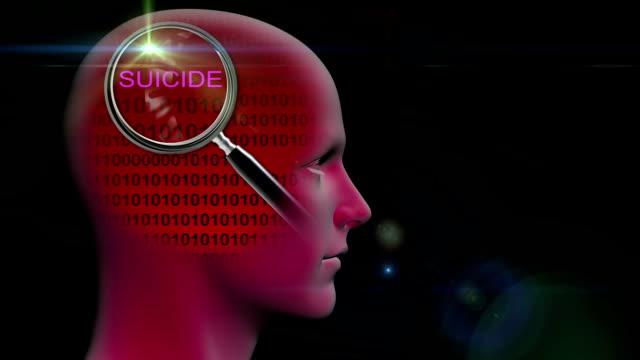 animación---Perfil-de-un-hombre-con-cerca-de-la-lupa-sobre-el-suicidio-de-la-palabra