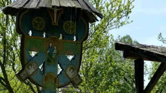 Tríptico-de-Christian-antigua-madera