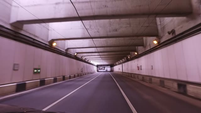 View-of-the-road-in-the-tunnel