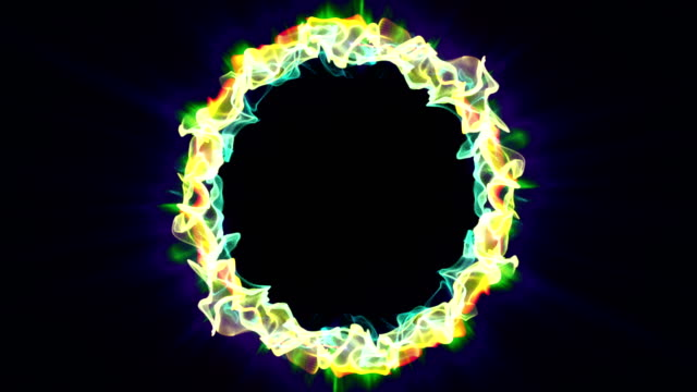 Magical-Particles-Ring-Abstract-Background