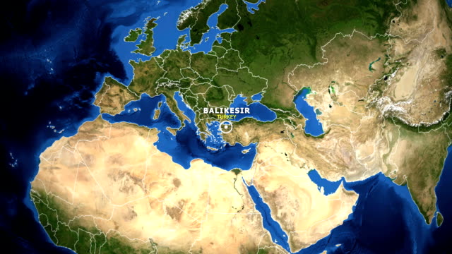 EARTH-ZOOM-IN-MAP---TURKEY-BALIKESIR