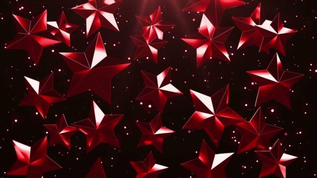 Lazo-de-fondo-rojo-Falling-Stars