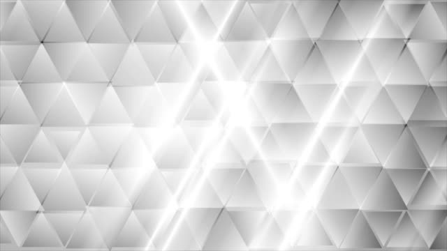 Abstract-grey-tech-geometric-triangles-video-clip