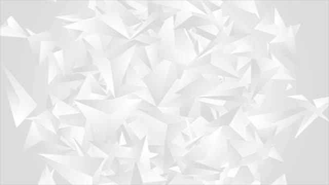 Formas-poligonales-gris-abstracto-animación-video-tech