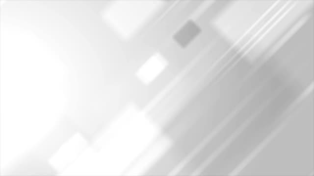 Light-grey-abstract-technology-video-animation
