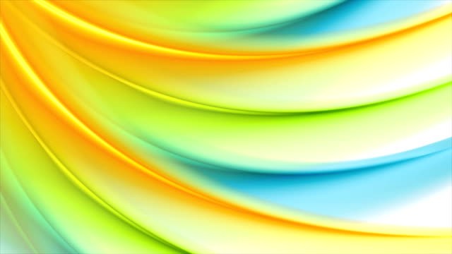 Colorful-abstract-wavy-pattern-video-animation