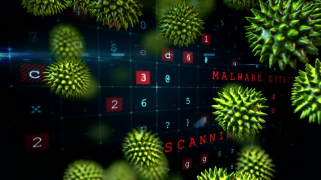 Virus-attack-in-an-exposed-cyber-security