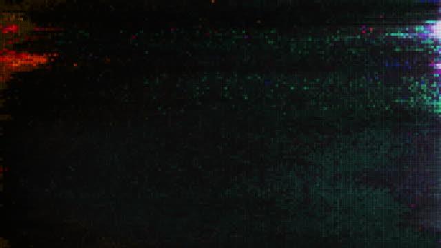 Diseño-único-abstracto-animacion-Digital-Pixel-ruido-falla-Error-Video-daño