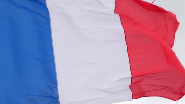 Real-French-Flag-in-Slow-Motion