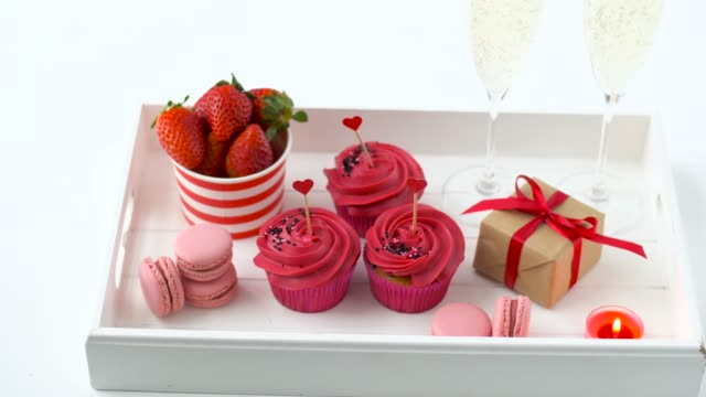 red-sweets-and-champagne-in-st-valentines-day