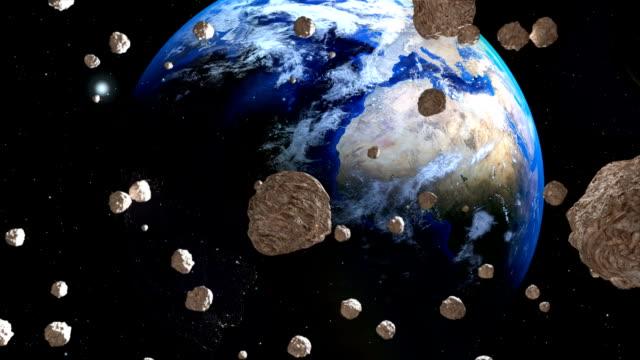 Asteroiden-kommen-nah-an-der-Erde-vom-Weltraum