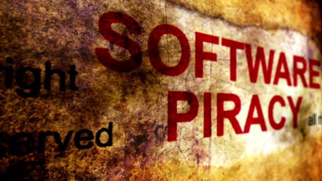 Concepto-de-grunge-de-la-piratería-de-software